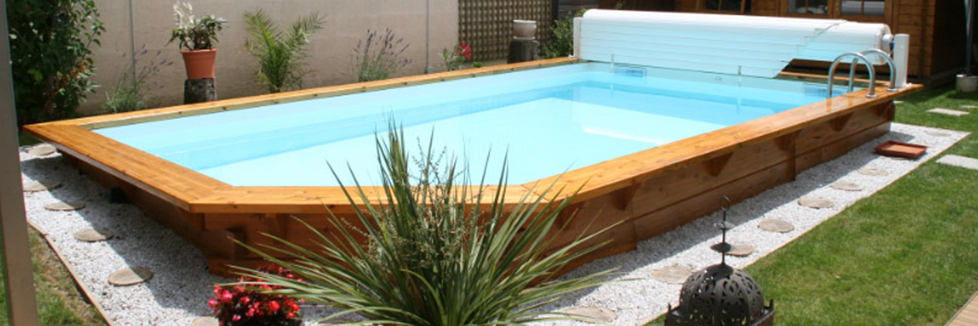 Piscines concept bois am nagement d 39 espace de bien tre for Piscine non enterree