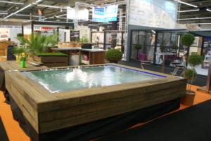 Piscines concept bois am nagement d 39 espace de bien tre for Margelle piscine miroir